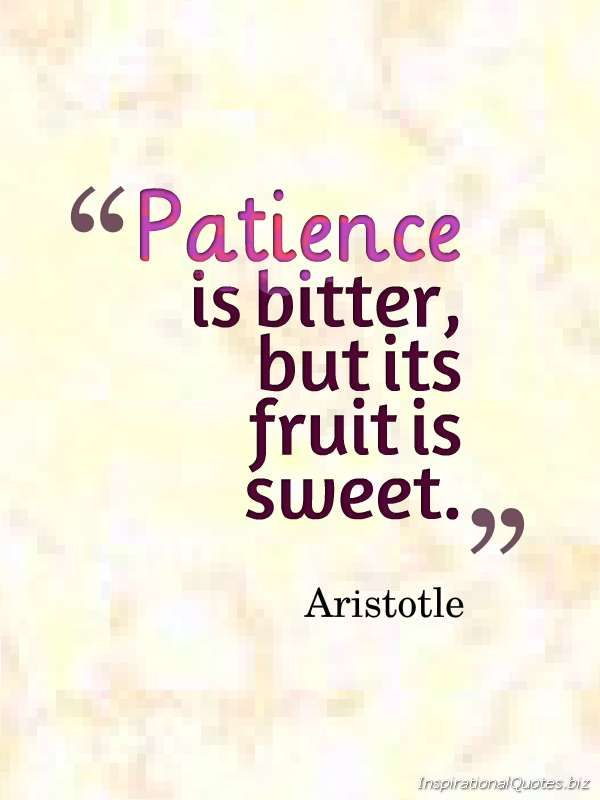 Quotes About Life Patience