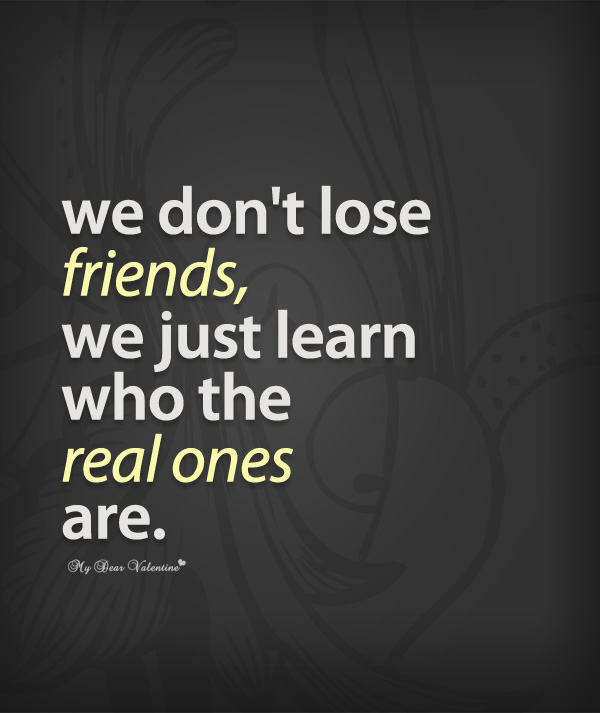 Quotes About Lost Friendship 50 Quotes