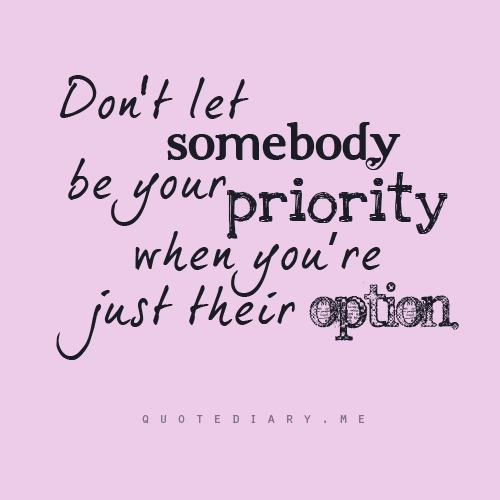 Quotes About Love Priority 48 Quotes