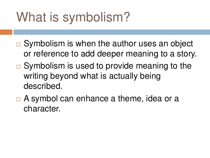 Quotes About Symbolism In Literature 18 Quotes