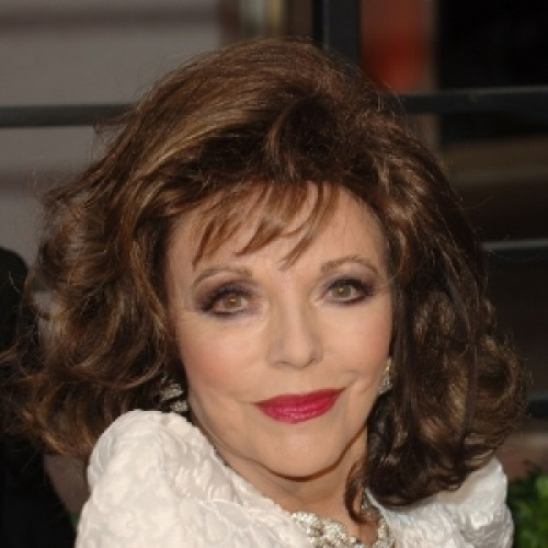 photos of joan collins Fake