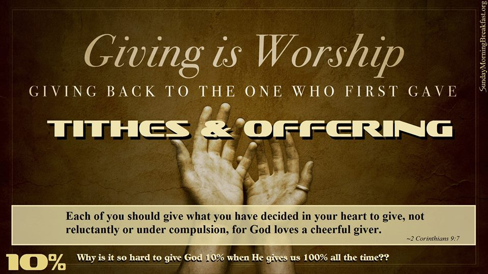 Quotes About Tithes And Offerings 17 Quotes
