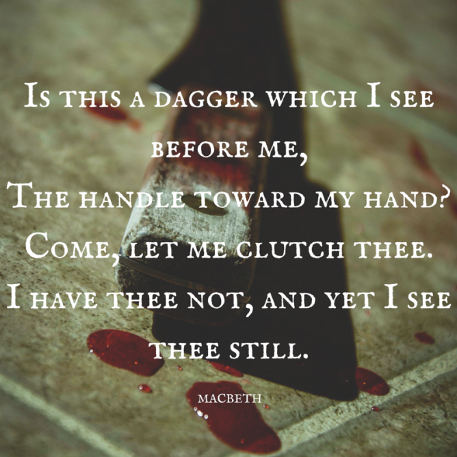 Quotes about Blood from macbeth (14 quotes)