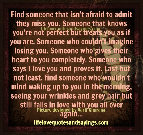 Quotes about Finding someone (124 quotes)