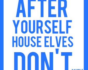 Funny House Cleaning Signs