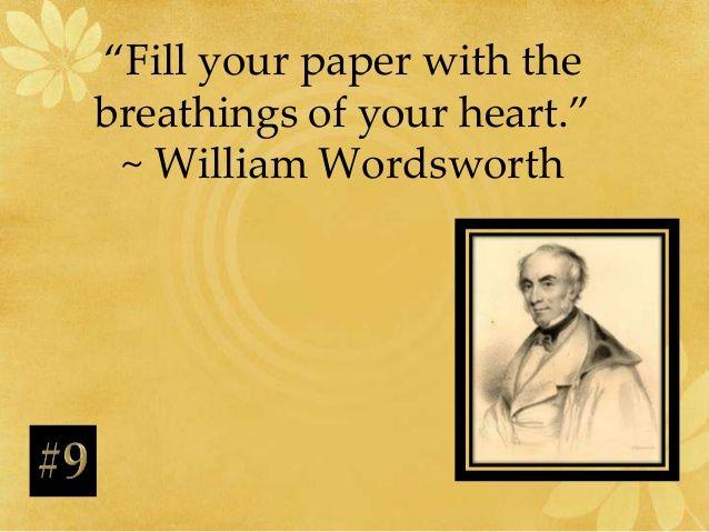 thesis wordsworth