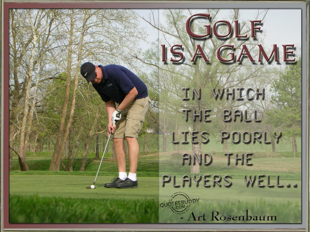Quotes About Golf Short Game 20 Quotes