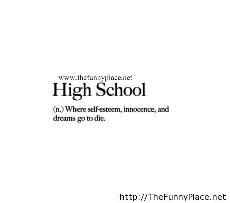 Quotes about Leaving high school (32 quotes)