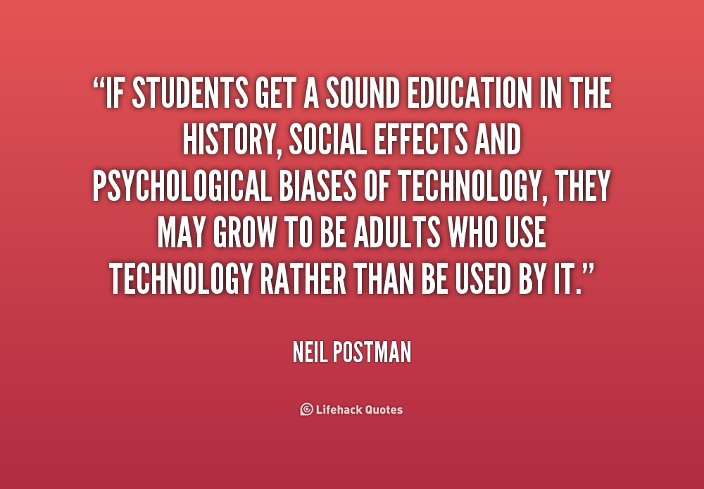 Negative Quotes About Technology In Education