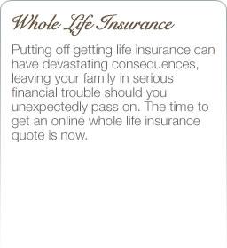 Wholelifeinsuranceonlinequote.com ...