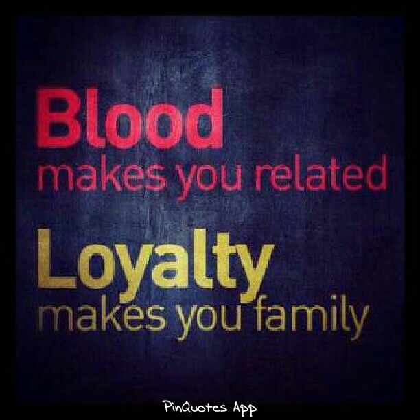 Quotes About Blood Not Being Family 15 Quotes