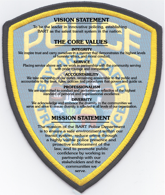 Law Enforcement Mission Statement Examples Gallery Example Cover
