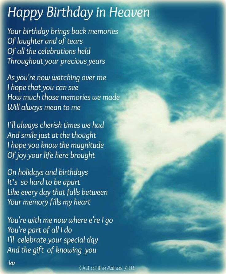 Quotes About Birthday In Heaven 23 Quotes