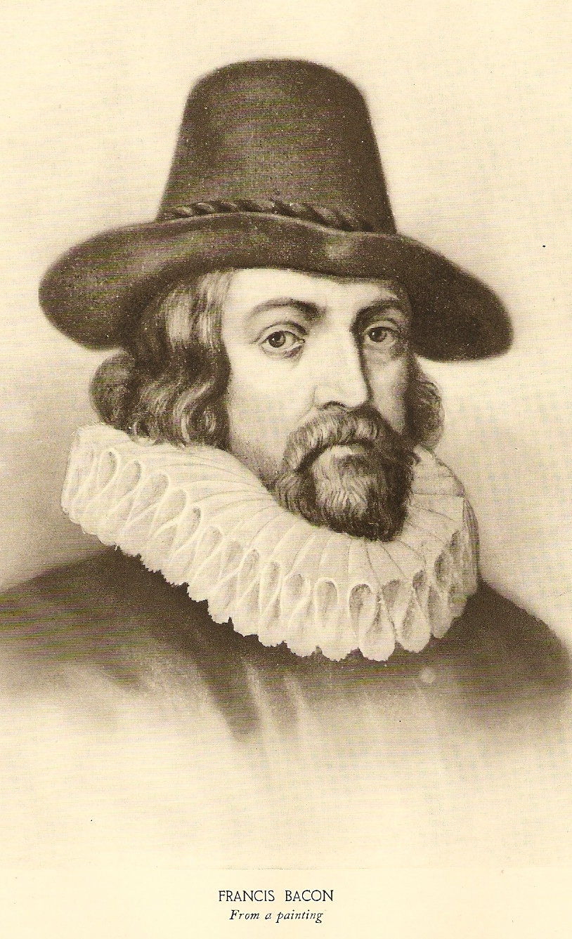 sir frances bacon Selected works of sir francis bacon, renaissance author, courtier, and father of inductive reasoning life, works, and resources.