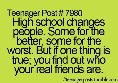 Quotes About Leaving High School Friends 16 Quotes