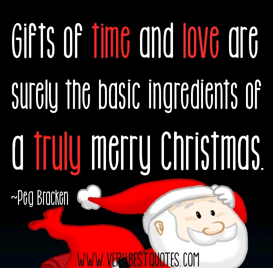 Its not about the gifts christmas quotes