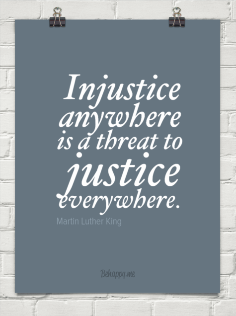 quotes about injustice anywhere quotes