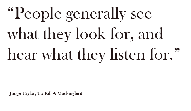 to kill a mockingbird quotes about prejudice