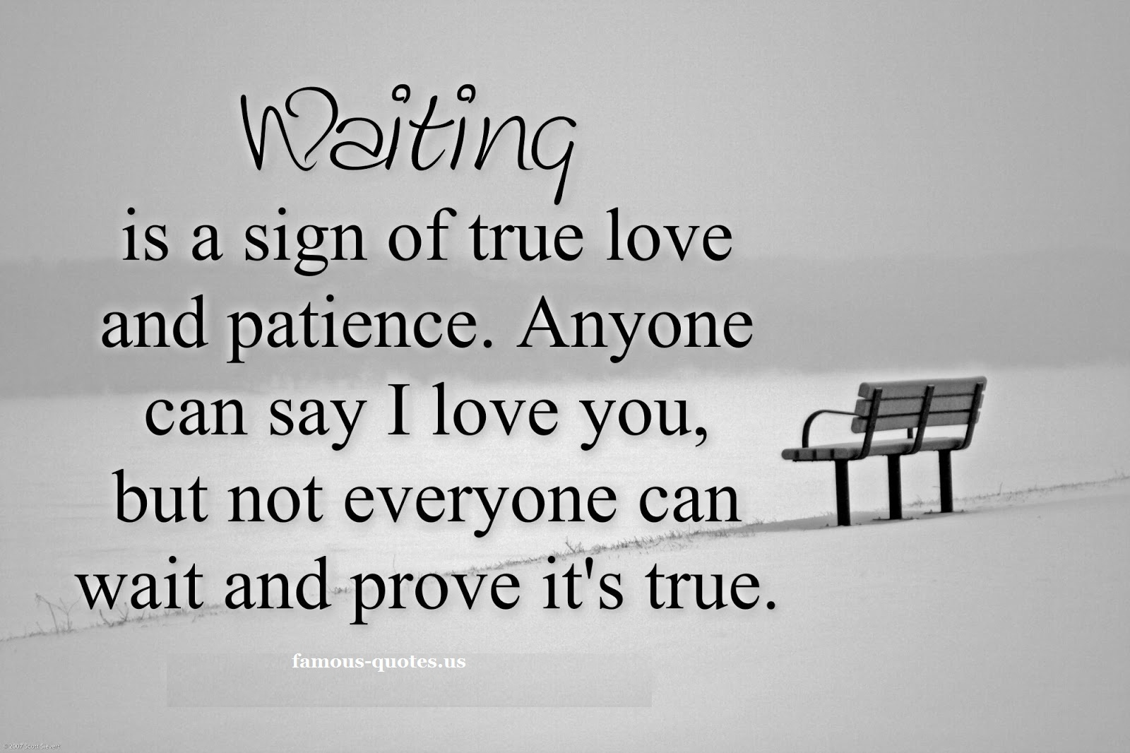 Quotes about Patience for love (39 quotes)