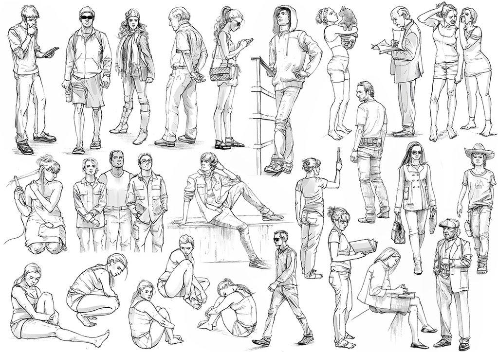 позы мужчины преобладают в картинках организациях