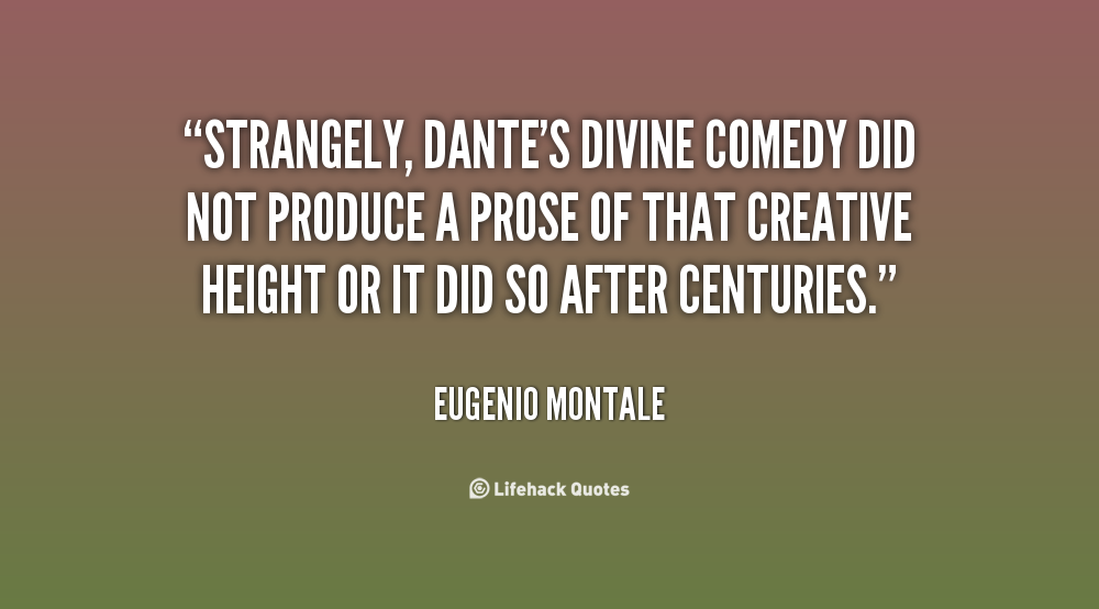 Quotes About Divine Comedy 26 Quotes