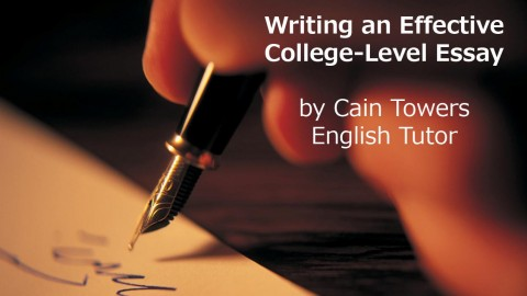 helpful tips writing college essay