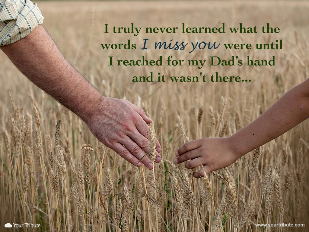 Quotes about Loss of father (34 quotes)