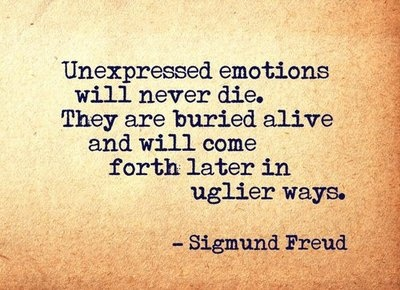 Quotes about Suppressing emotions (26 quotes)