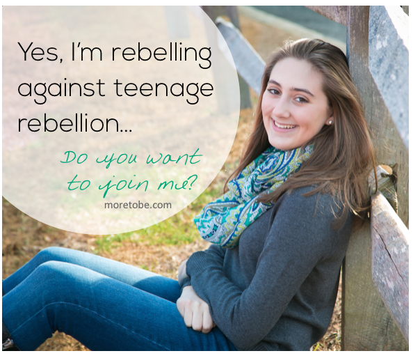 an analysis of rebellion in teenagers