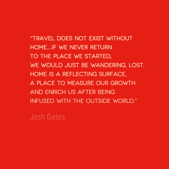 Quotes About Travel And Returning Home 15 Quotes
