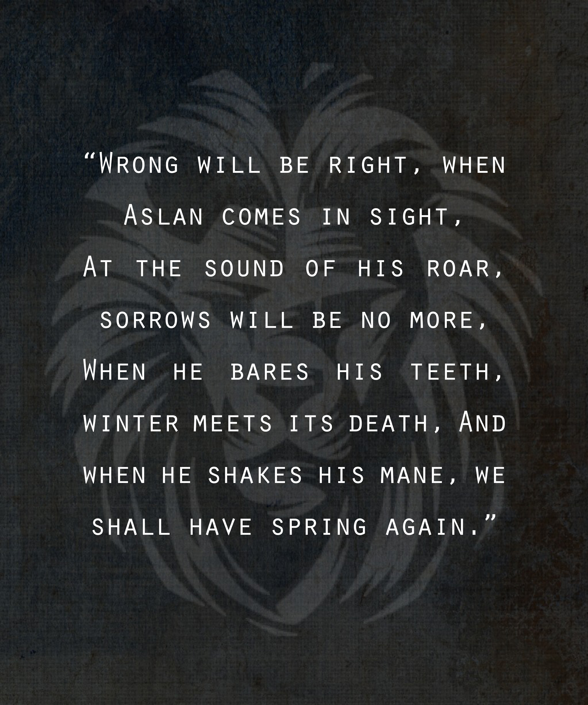 29   Best Narnia Quotes for narnia quotes tumblr  585eri