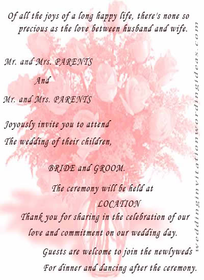 Quotes about Wedding Invitation 27 quotes