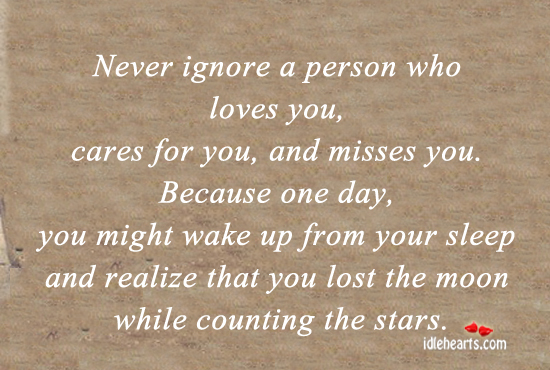 Quotes About Ignoring Your Love 20 Quotes