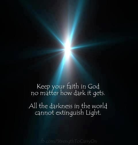 Image result for be the light in the darkness