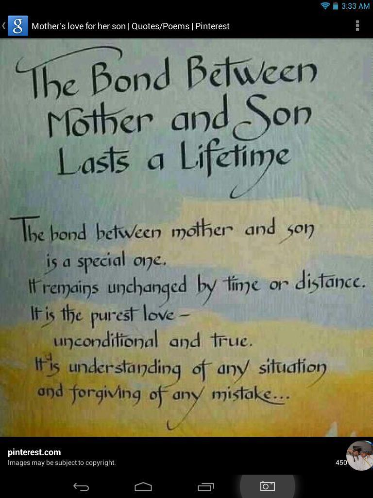 Quotes About Mother Son 109 Quotes