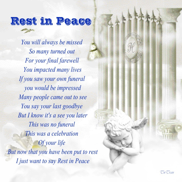 Quotes About Rest In Peace 112 Quotes