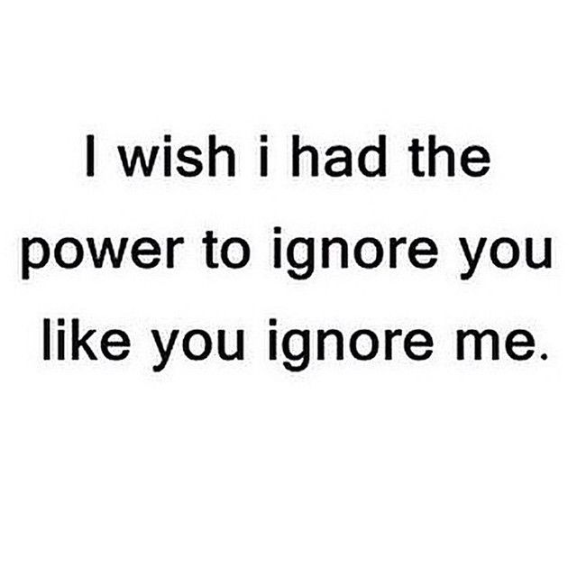 quotes about ignoring on facebook quotes