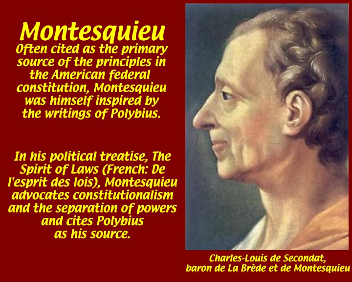 montesquieus contributions to the enlightenment When the legislative and executive powers are united in the same person, or in the same body of magistrates, there can be no liberty because apprehensions may arise, lest the same monarch or senate should enact tyrannical laws, to execute them in a tyrannical manner.