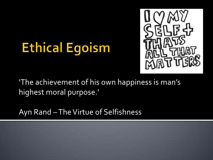 an introduction to psychological egoism