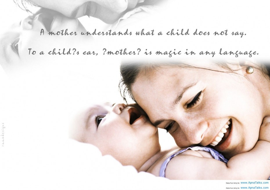 Quotes About Mom And Child 53 Quotes