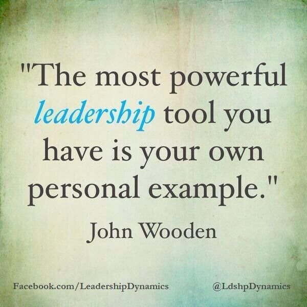 quotes about leadership by example (27 quotes)