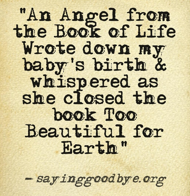Quotes about Losing A Baby (33 quotes)