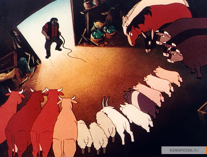 the use of propaganda and euphemisms in animal farm a novel by george orwell