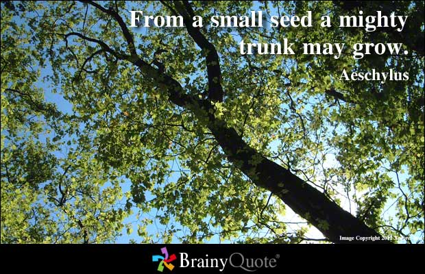 Quotes About Seed 531 Quotes