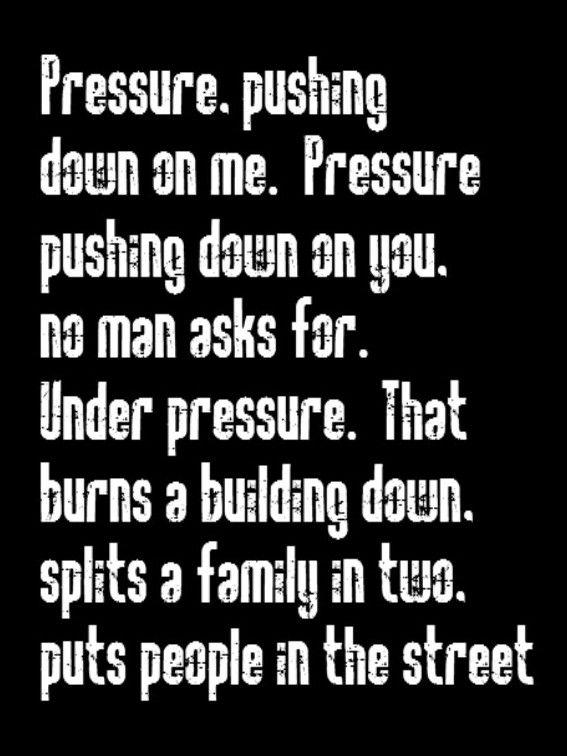 quotes about succeeding under pressure quotes