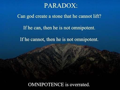 the paradox of omnipotence and mackies solution essay