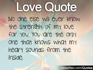 Quotes About My Only One 297 Quotes