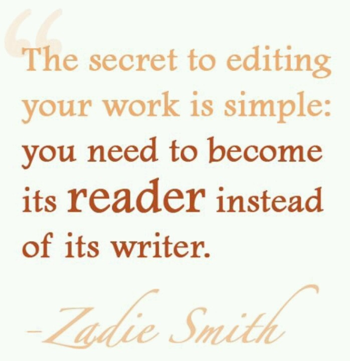 quotes about being an editor quotes