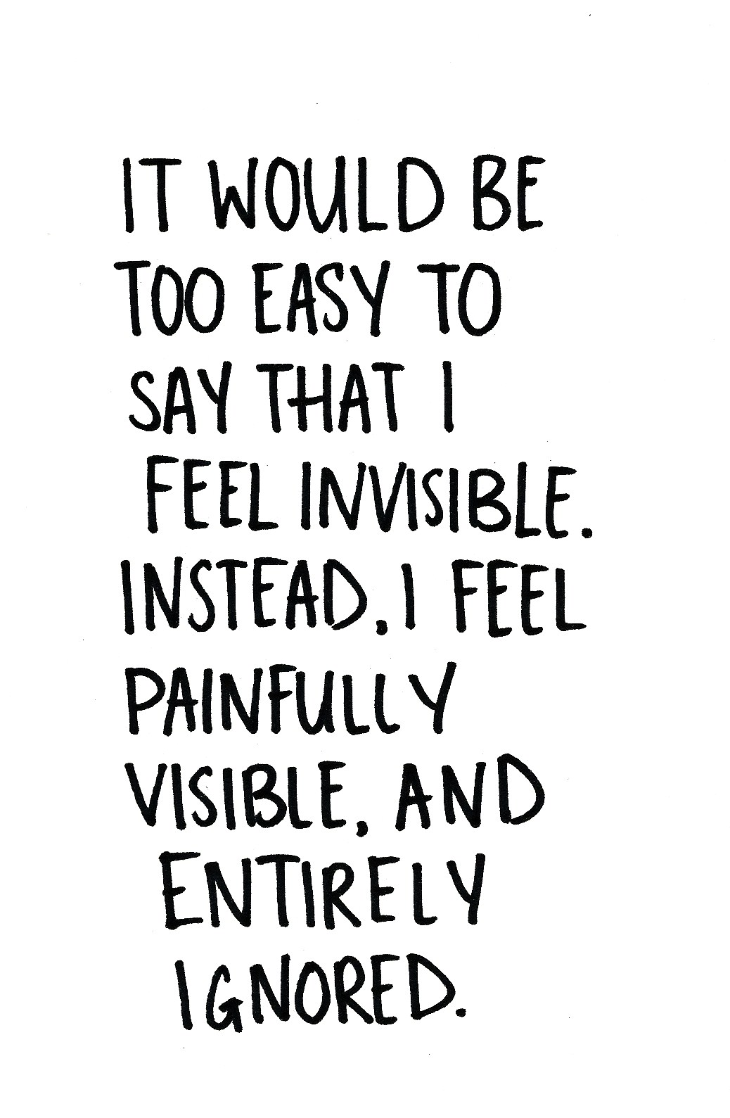 being invisible quotes - HD1038×1589