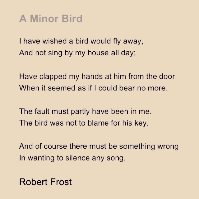 robert frost a soldier poetry analysis A close look at robert frost when this goes on in poetry—what frost himself called the renewal of words forever and ever—it is accompanied and invigorated.